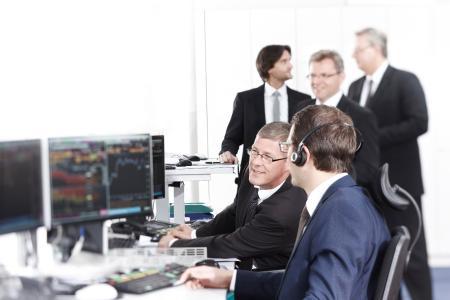 Team Rentenhandel der Bank Schilling