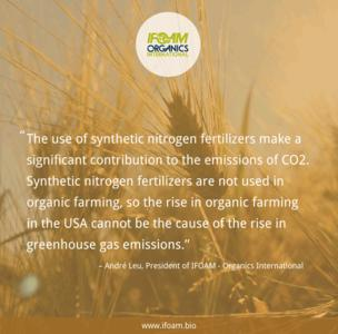 Response to 'Does certified organic farming reduce greenhouse gas emissions from agricultural production?'