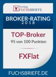 Fuchs Briefe Top Broker FXFlat 2018