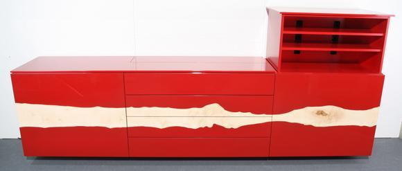 Sideboard Mit Tv Lift fernsehgenuss mit 50 karat - flatlift baut teuerstes tv-sideboard
