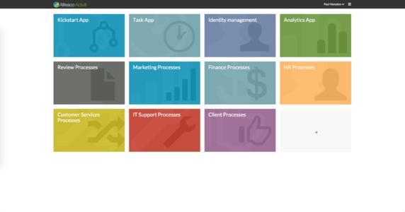 Alfresco vereint ECM und BPM auf einer Plattform. Damit wird die digitale Transformation vieler Prozesse ermöglicht, vom Anlegen neuer Kunden, über Personalprozesse bis hin zu Support-Fällen.