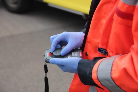 RescueWave® digitalisiert Notfalleinsätze (Foto: VOMATEC)