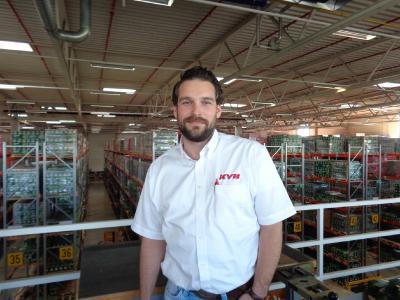 Bei KYB Europe verantwortlich für technischen Service und Trainings: Bastian Nardi Bauer