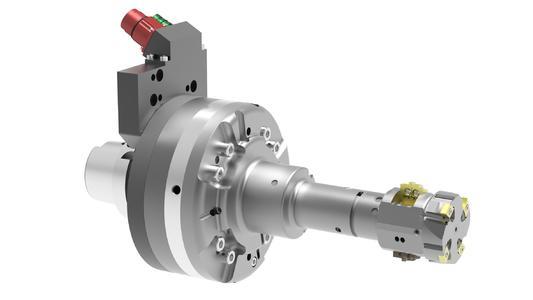 Die MAPAL EPC Endlagenkontrolle ist besonders vorteilhaft bei kühlmittelgesteuerten Werkzeugen (Beispiel Kolbenbohrungswerkzeug für Bremssattel)