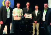 Die Projektverantwortlichen der WMF Group und Oraylis GmbH freuen sich über den BARC Practice Award 2018 für Konzernlösungen im Bereich Business Intelligence & Analytics.