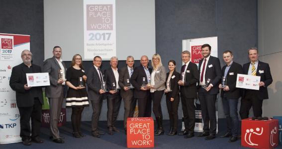 ITGAIN erzielt Spitzenplatz im Great Place to Work® Wettbewerb 2017