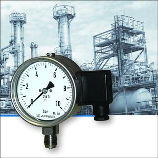 Dual pressure measurement
