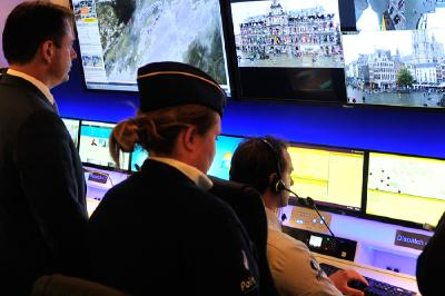 IHSE KVM system supports the police in Antwerp