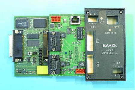 The EC Type Examination Certificate was recently issued for the Haver & Boecker MEC III weighing electronic system.