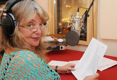 """Gigi Herr ist die weibliche Stimme des """"Navi op kölsch""""."""