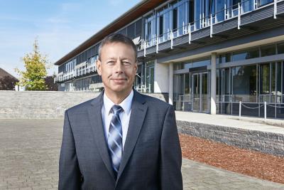 Geschäftsführer Jörg Kogelheide freut sich auf die Zusammenarbeit.