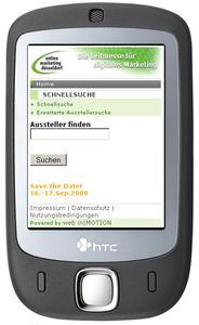 Mobile Web-Adresse:  www.omd08m.de