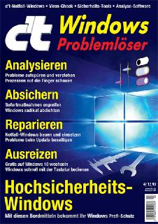 c't Windows Problemlöser: Analysieren, absichern, reparieren