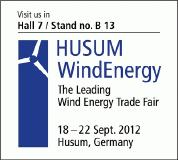 Wind industry follows the call to HUSUM