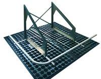 Ganzheitlich durchdacht ist das System Fallnet® SB 200 Rail: die Gründach-geeignete Basisplatte SB 200 zur Solaraufständerung wird mit dem Schienensystem zur Absturzsicherung erweitert und vereint alle erforderlichen Funktionen in einem!