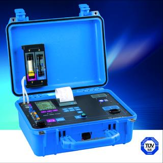 Flue gas analyser MAXILYZER NG Plus with yet more features