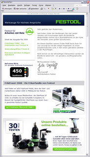 Schneller.Leichter.Besser | FESTOOL E-Mail-Marketing