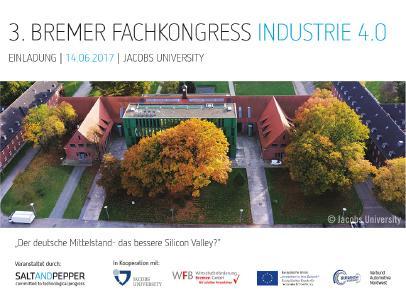 Einladung zum 3. Bremer Fachkongress Industrie 4.0