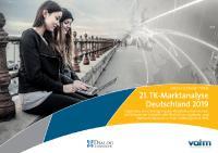 [PDF] VATM TK Marktstudie 09 / 2019