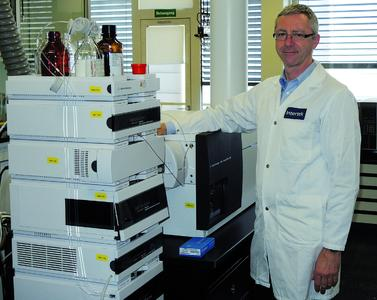 Robert Peter, analytical laboratory manager at Intertek's centre of excellence for analytical sciences in Basel