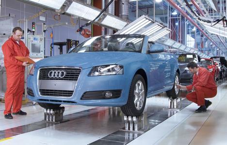 Audi Hungaria setzt seine Erfolgsgeschichte mit dem Audi A3 Cabriolet fort