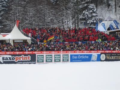 Saxoprint beim Wintersport in Oberstdorf