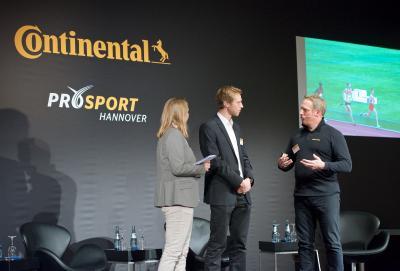 Continental fördert Deaflympics-Starter Alexander Bley von Hannover Athletics einmalig mit 5.000 EUR