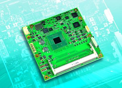 COM Express-Module mit Intel Atom-Prozessorfamilie E3800