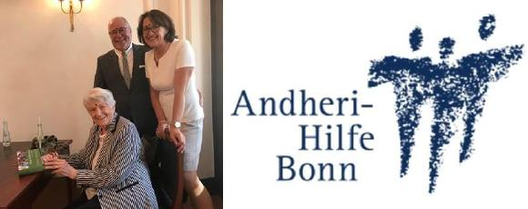 vorne: Rosi Gollmann; v.l.n.r. Peter M. Wöllner, Doris Wöllner (Bild: CiS)