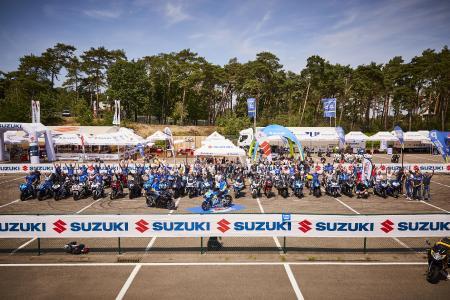 2. Europäisches GSX-R Treffen mit Rins und Mir / Bild: Suzuki, Magali Hauser