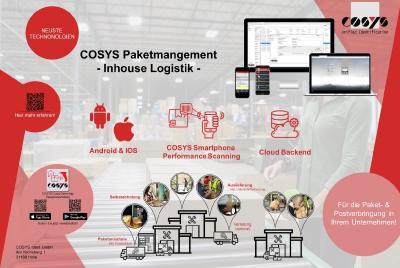 COSYS Software für Inhouse Logistik und Paket Management