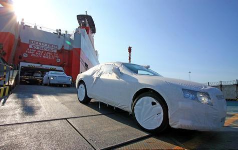 Bentley für Russland via St. Petersburg