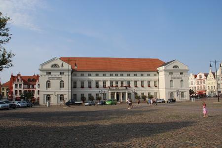 Im Rathaus der Hansestadt Wismar wird die Arbeitszeit künftig mit einem primion-System erfasst (Fotograf: Pressestelle HWI)