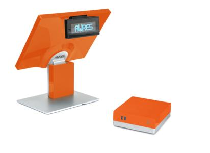 The sango touchscreen with the sango box: the new POS modular solution from AURES