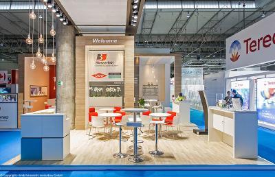 Messebauunternehmen hmb hanseatic messebau GmbH weiß aus über 25 Jahren Erfahrung, dass Messeauftritte inspirieren müssen