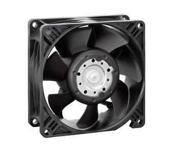 Kompakte Abmessungen bei bestem Wirkungsgrad und optimierten Betriebsgeräusch: Neuer Hochleistungslüfter in der 92 x 92 mm Klasse