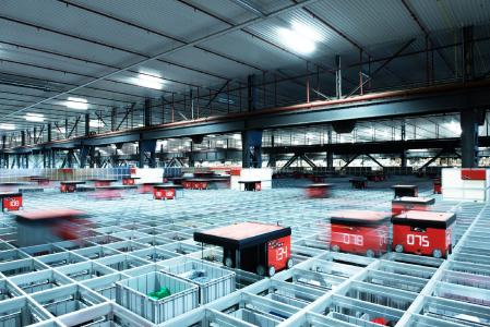 Mit AutoStore® bietet Dematic künftig weltweit Lösungen zur Optimierung der Lagerdichte an. (Foto: AutoStore)