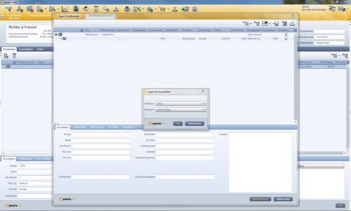 Ausgabe einer UGL aus der PDS Handwerkersoftware