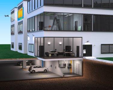 Die digitale Vernetzung von Gebäuden, aber auch Trendthemen wie Elektromobilität und Industriedrohnen stehen bei Conrad zurzeit in der Gebäudetechnik im Fokus