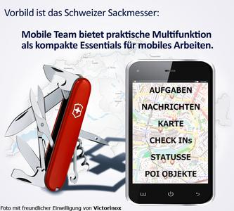 Multi feature cloud & App as solid mobile tool like a Swiss pocket knife