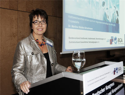 Dr. Martina Städtler-Schumann, Geschäftsführerin der Prof. Schumann GmbH