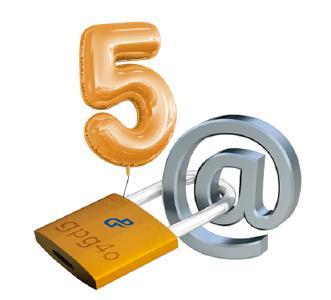 Version 5.0: gpg4o® feiert sein fünfjähriges Software-Jubiläum