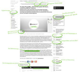 10 Jahre PresseBox - Die neuen Features auf einen Blick