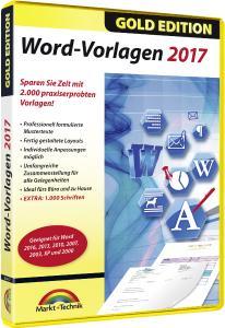 Word-Vorlagen 2017