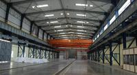 Production facility view inside