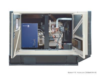 Die SVC-Antriebsfunktion des SD2M ermöglicht den Betrieb von hochdrehenden Synchron-Motoren und -Generatoren – ideal für Hochgeschwindigkeitsanwendungen, z.B. Turbogebläse oder Turbokompressoren ©stefan1179 - Fotolia.com   SIEB & MEYER AG