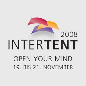 Die Losberger Hausausstellung - Intertent 2008 - in diesem Jahr zum ersten Mal mit neuem Logo