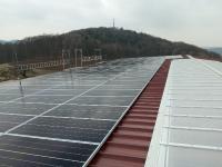 Photovoltaikanlage auf Industriedach