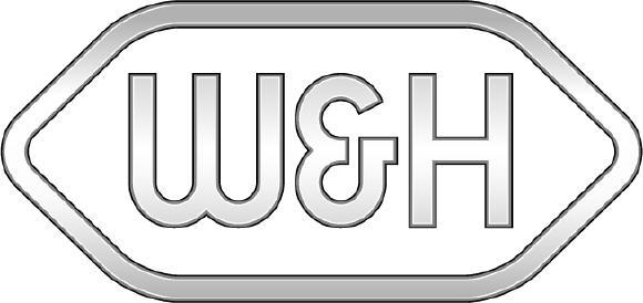 Das überarbeitet W&H-Logo sticht sofort ins Auge. Die Optik ist klarer und fokussierter. Foto: © W&H