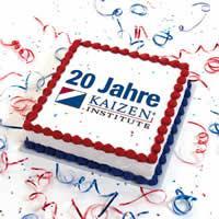 20 Jahre KAIZEN Institute Deutschland – LEANmagazin gratuliert